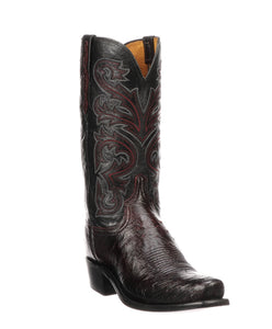 Lucchese Men's Smooth Ostrich Boot- Style #N1149