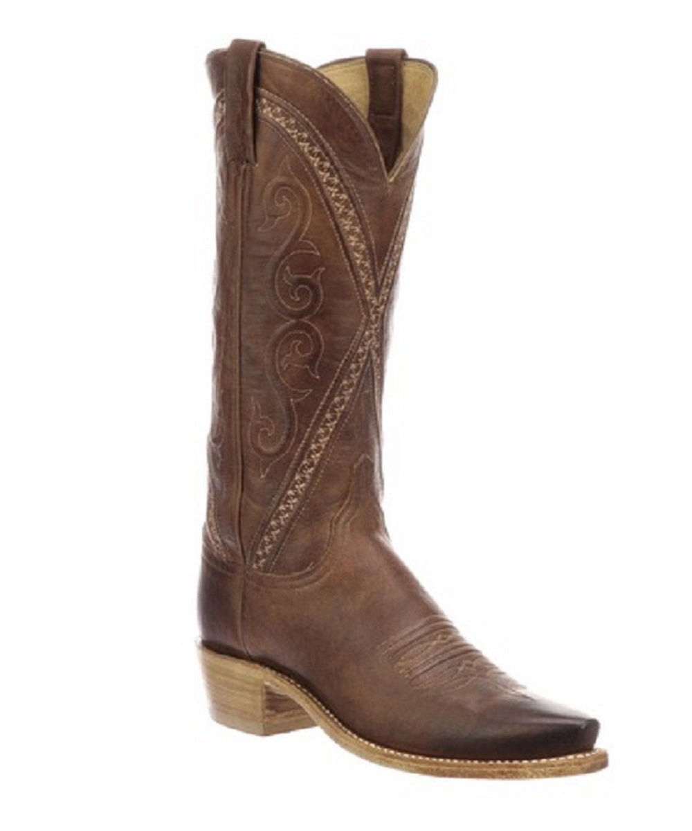 Lucchese Women's Goat Leather Snip Toe Boot- Style #N4789
