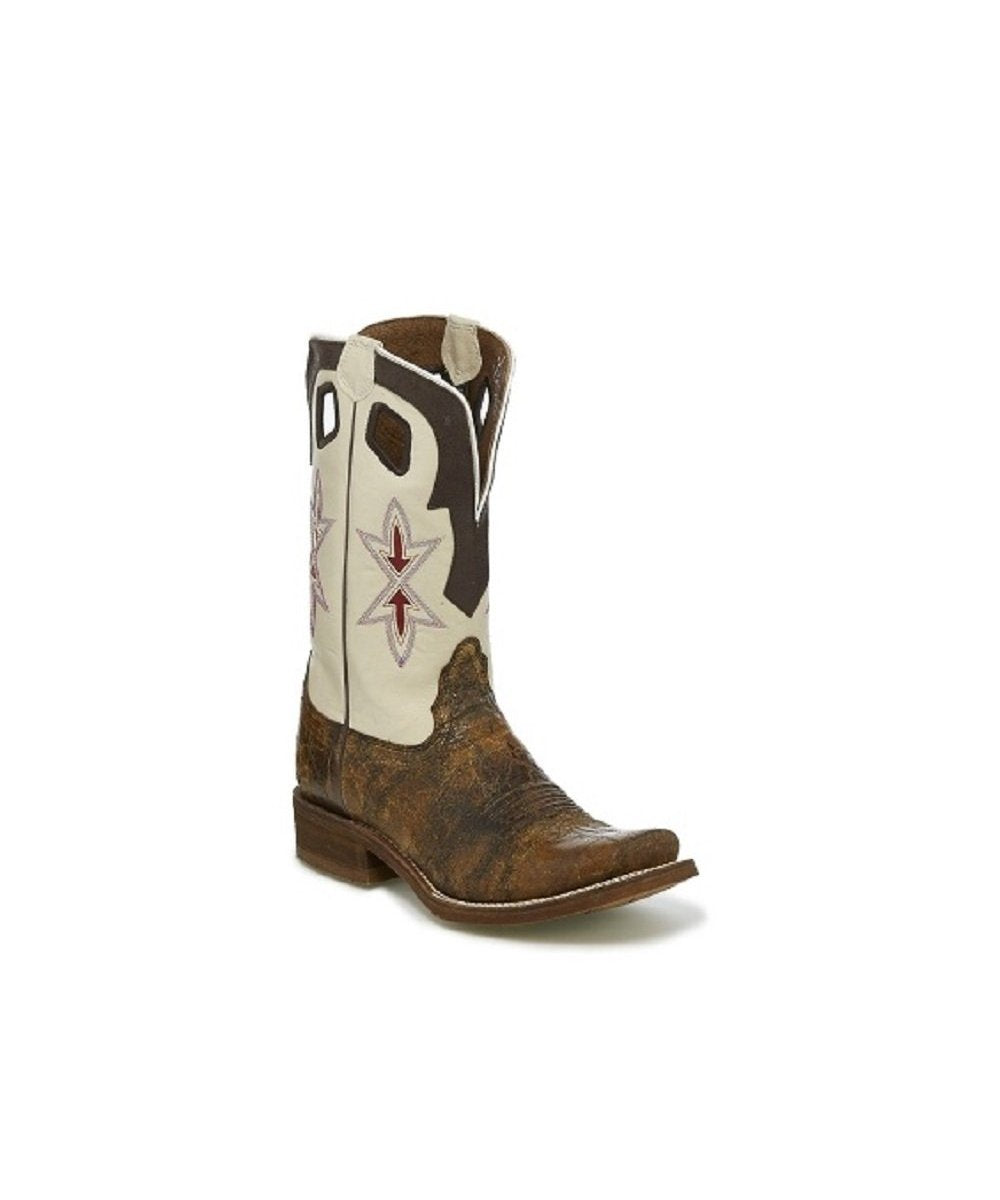 NOCONA WOMEN'S SEDINIA TAN CRACKERJACK BOOT- STYLE #NL5400