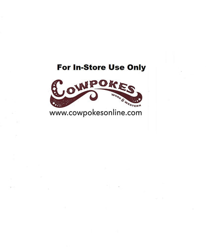 Cowpokes $20 In-Store Gift Card- Style #20GC