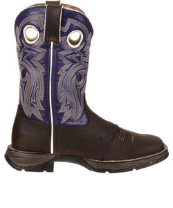Durango Women's Lady Rebel Twilight N' Lace Western Saddle Boot- Style #RD3576
