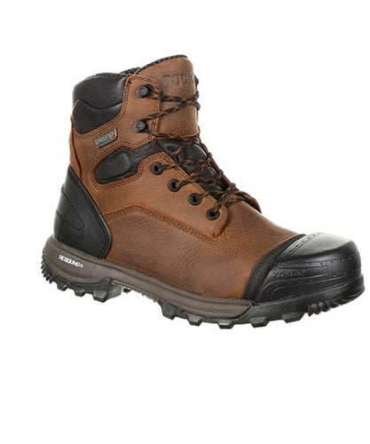 ROCKY MEN'S XO-TOE COMPOSITE WATERPROOF WORK BOOT- STYLE #RKK0251
