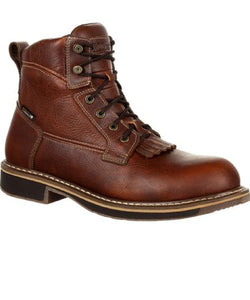 ROCKY MEN'S CODY WATERPROOF LACER WESTERN WORK BOOT- STYLE #RKW0238