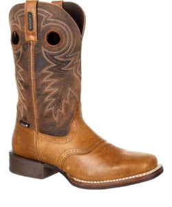 ROCKY MEN'S SQUARE TOE WATERPROOF DAKOTA BOOTS - STYLE #RKW0241