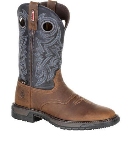 Rocky Men's Original Ride FLX Waterproof Western Boot- Style #RKW0281