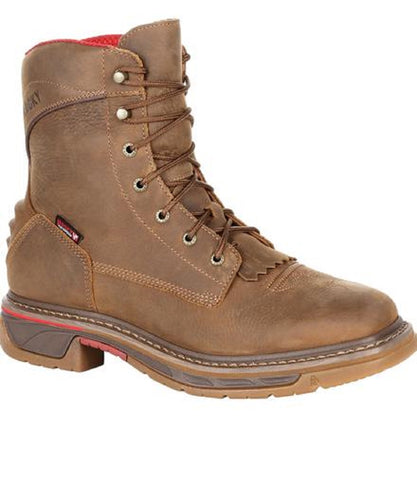 Rocky Men's Iron Skull Waterproof Lacer Western Boot- Style #RKW0286