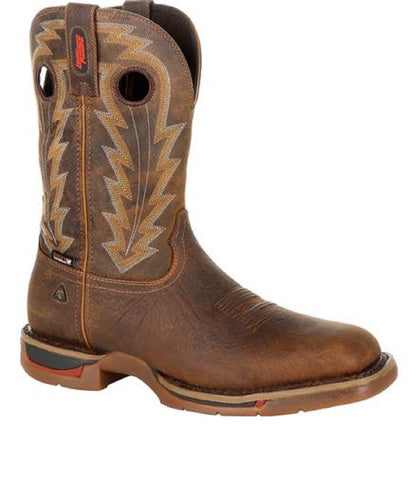 Rocky Men's Long Range Composite Toe Waterproof Western Boot- Style #RKW0303