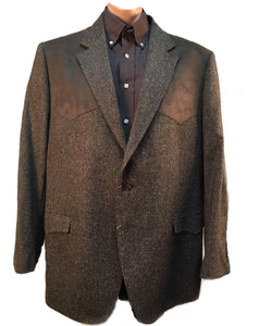 Red Sky Men's Western Brown Blazer- Style #RSFT5203-BROWN