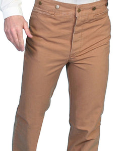 SCULLY MEN'S CANVAS PANTS - STYLE #RW040XX