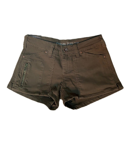 Cowgirl Tuff Women's Forest Green Short- Style #SHFRST-GRN