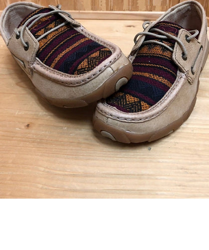 Twisted X Women's Cowpokes Exclusive Multi Color Moc- Style #Smuwdm33