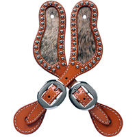 3D BELT CO. NATURAL SMALL SPUR STRAPS- STYLE #SS913