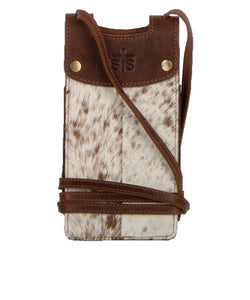 Carroll Companies Women's STS Cowhide Cell Phone Crossbody- Style #STS33854