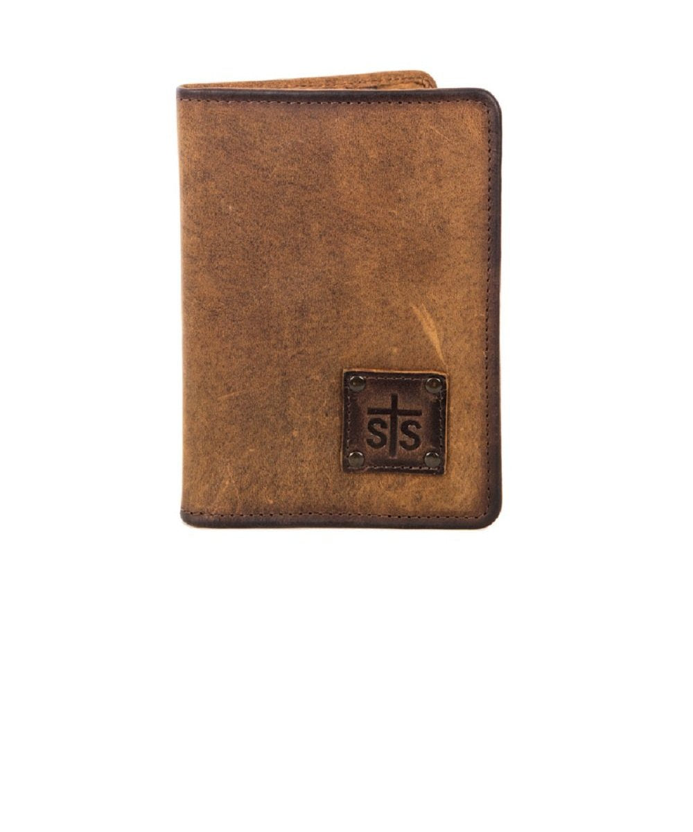 Carroll Companies STS Brown Magnetic Wallet- Style #STS34050-BROWN