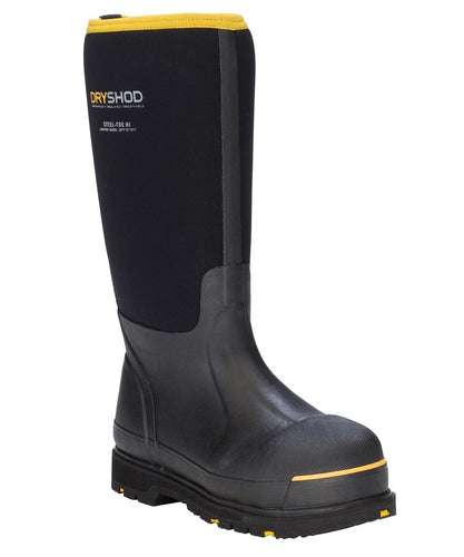 Dryshod Steel Toe Protective Work Boot- Style # STT-UH-BK