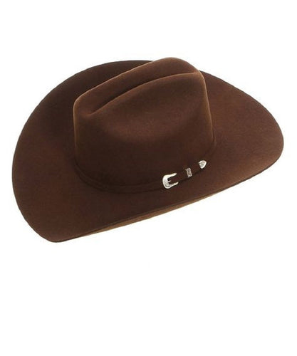 Stetson Oak Ridge Chocolate Hat- Style #SWOAKR-7240CLR CHO