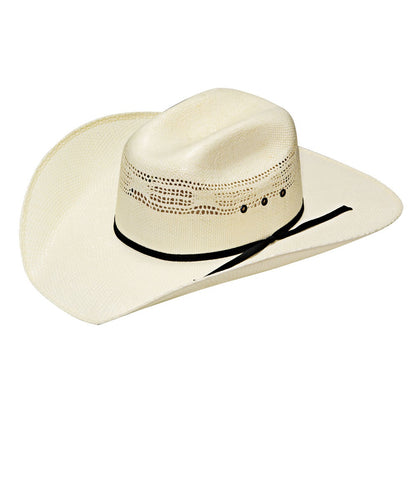 M&F Western Youth Twister Bangora Western Straw Hat- Style #T71318