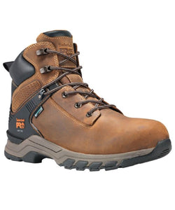 "TIMBERLAND MEN'S 6"" WATERPROOF HYPERCHARGE WORK BOOT- STYLE #0A1RVS"