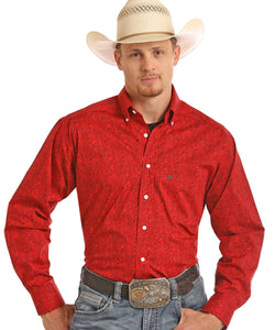 PANHANDLE MEN'S LONG SLEEVE BUTTON DOWN SHIRT - STYLE #TCD6303