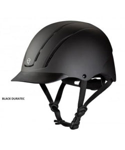 Troxel Spirit Black Duratec Riding Helmet- Style #04-551
