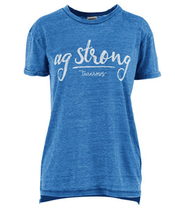 Royce Apparel Women's Ag Strong Tee- Style #TRW61W20AGS