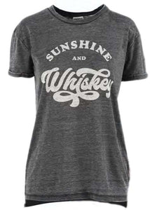 Royce Apparel Women's Sunshine And Whiskey Tee- Style #TRW61W20WHK