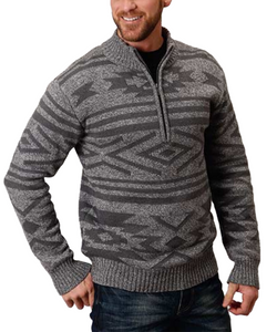 Stetson Men's Wool Blend Knit Sweater- Style #11-014-0120-7107