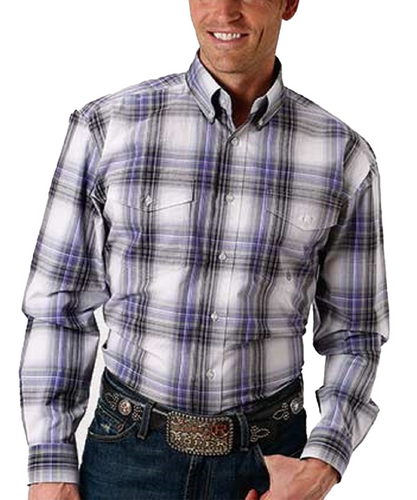 Roper Men's Argate Stone Button Down Shirt- Style #03-001-0678-2065