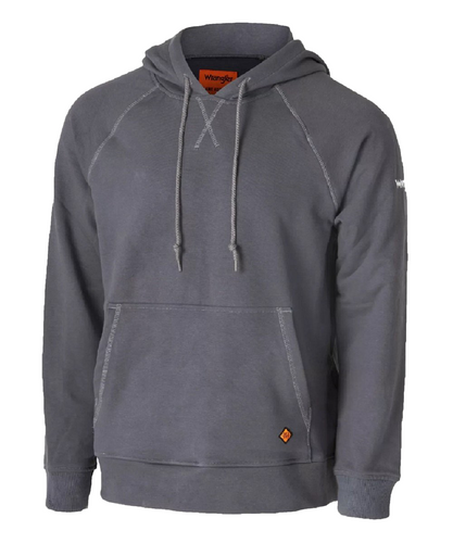 Wrangler Men's Flame Resistant Charcoal Hoodie- Style #FR171CH