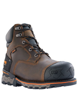 "Timberland Hombres PRO Boondock 6"" Composite Toe Work Boot- Style #92615"