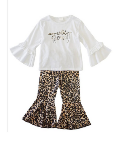 Honey Dew Girl's Wild Child Set- Style #809207