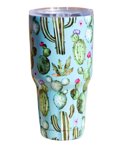 Ranch Dress'n Watercolor Cactus Tumbler-Style #WATERCOLORCACTUSTUMBLER