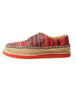 Twisted X Women's Driving Moc Loafer- Style # Wcl0008-Multi