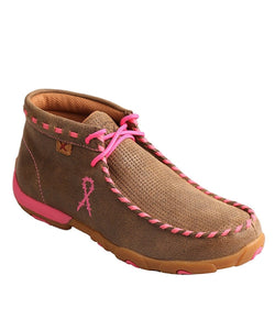 Twisted X Women's Neon Pink Driving Moc- Style #Wdm0051