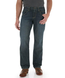 Wrangler Men's Retro Straight Leg Worn Bark Jean- Style #WRT30WB