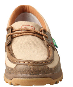 Twisted X Women's CellStretch Boat Shoe Driving Moc- Style #WXC0003