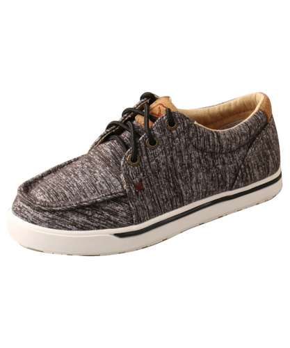Twisted X Kids Dark Heather Grey Kicks Shoes- Style #YCA0004