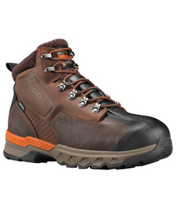 "TIMBERLAND MEN'S PRO DOWNDRAFT 6"" ALLOY TOE WORK BOOT- STYLE #A1VEW"