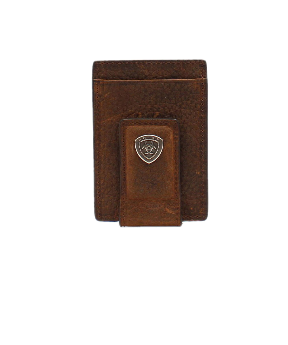 M&F Western Men's Ariat Card Case Money Clip- Style #A35123282
