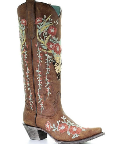 CORRAL WOMEN'S JULIET EMBROIDERED BOOT- STYLE #A3620