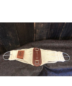"Beagley Braiding Co. 28"" Mohair Roper Cinch- Style #BBCMOHAIR28"