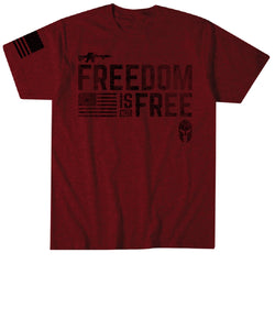 Affliction Men's Howitzer Freedom Is Not Free Tee- Style #CV679