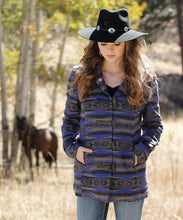 Cruel Girl Women's Patterned Tweed Coat- Style #CWJ7243001