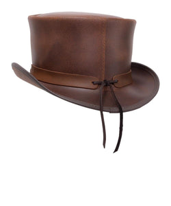 Head'N Home Hats El Dorado Buffalo Band Top Hat- Style #ELDERADOBUFFALO