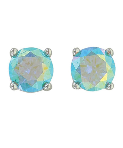 MONTANA SILVERSMITHS WOMEN'S LUMINESCENT BLUE POST EARRINGS - STYLE #ER3945