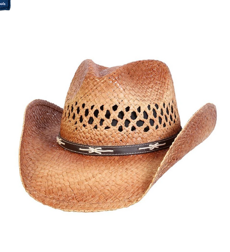 Conner Hats Great Western Trail Straw Hat- Style #F5174