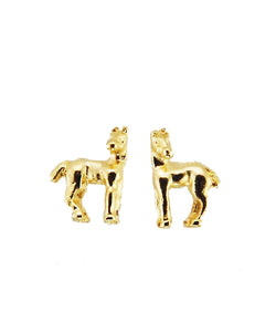 Finishing Touch Of Kentucky Women's Gold Horse Earrings- Style #HER1004