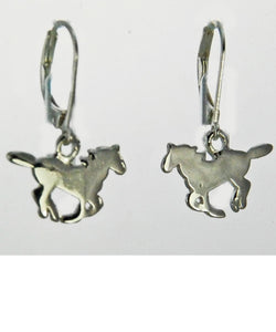 Finishing Touch Of Kentucky Women's Running Horse Earrings- Style #HER3321