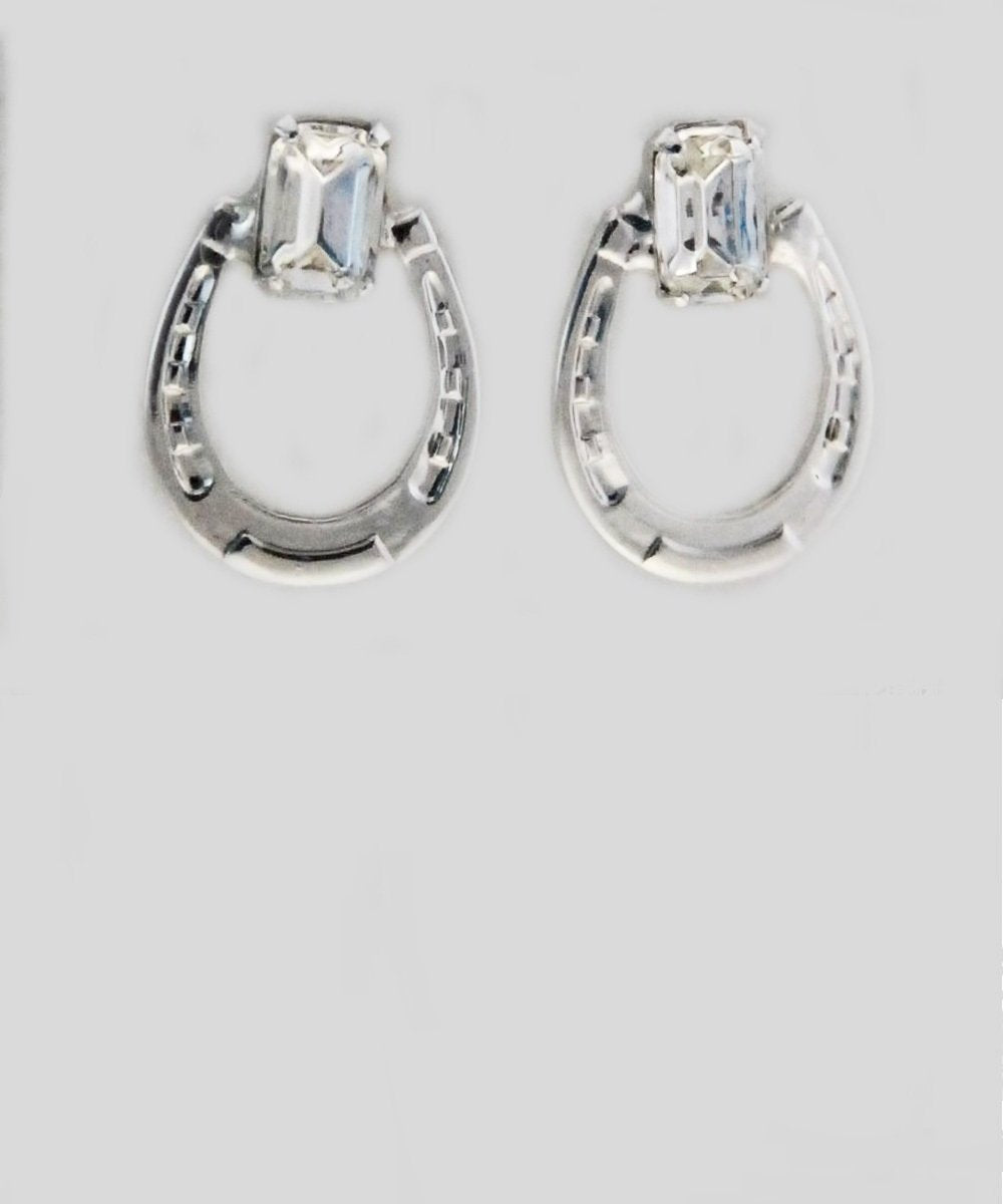 Finishing Touch Of Kentucky Women's Horseshoe Earrings- Style  #HER4217