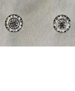FINISHING TOUCH OF KENTUCKY WOMEN'S MINI RONDELL EARRINGS - STYLE #HER8323